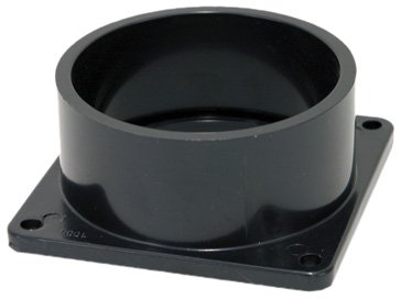 Abs Hose Vent - Valterra Black T1005 Flanged Valve Fitting-3