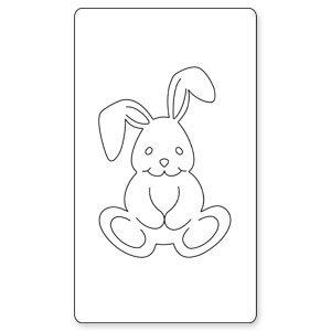 Sizzix Originals Die-Medium Baby Bunny - Buy Online in Oman