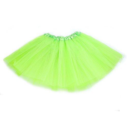 (Anleolife 12'' Ballet Tutu Dress Cheap Birthday Tutu Skirt (light)
