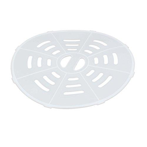 uxcell 20cm Dia Plastic Semi Automatic Washing Machine Spin Cap Cover White