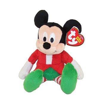 Amazon.com  Ty Beanie Baby - Disney Christmas Holiday (Mickey ... 2b362d1937d