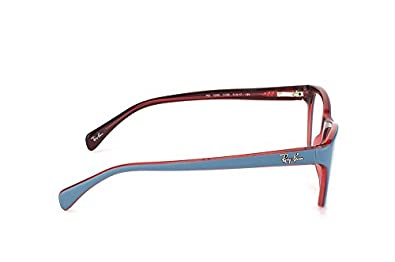 eb0bf88397 Ray-ban Rx Eyeglasses Frames Rb 5298 5388 55x17 Top Matte Oil on  Transparent Red  Amazon.ca  Shoes   Handbags