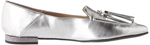 Franco Sarto Womens Rachelle Silver Metal Soft PU M g6P9l