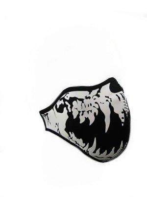"""goodsports© Original–Schutzmaske, Neopren, Motiv: """"Slasher"""", Größe verstellbar–Airsoft, Paintball, Ski, Snowboarding, Surfen, Motorrad"""