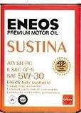 エネオス プレミアムオイル サスティナ 5W-30 4L ENEOS SUSTINA