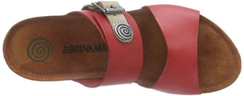 Rosso Brinkmann Rosso Ciabatte 700920 Rosso Donna Dr 1q4P8wP