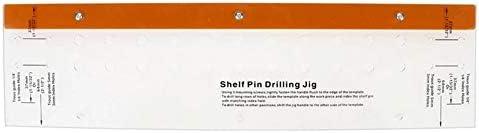 Pocket Hole Jig Door Cabinet Furniture Woodworking Tool Shelf Pin Drilling Jig with 1/4 Inch Self Centering Bit Pocket Hole Screw Jig Dowel Drill
