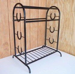 Apple Picker Trophy Saddle Rack Black