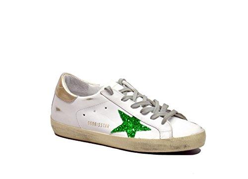 Golden Goose - Zapatillas de gimnasia para mujer Blanco Bianco 37 blanco
