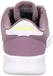 adidas QT Racer, Zapatillas de Running para Mujer, Legacy Purple/FTWR White/Shock Yellow, 39 1/3 EU  y3rb0