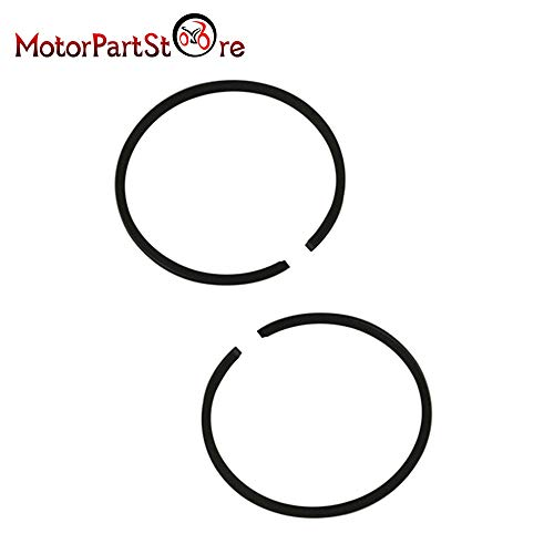 Engine Yamaha Standard (LySanSan - Standard Piston Rings for YAMAHA PW50 PW 50 QT 50 PEEWEE Dirt Pit Kids Bike Motorcycle Parts)