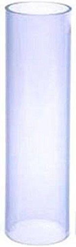 12 Clear Plastic Centerpiece Tubes 10
