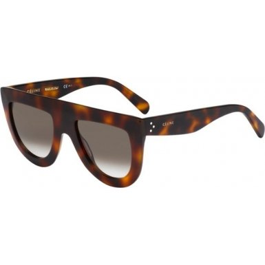 Celine 41398/S 05L Havana Andrea Aviator Sunglasses Lens Category 3 Size - Andrea Sunglasses