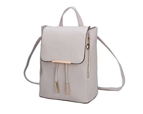 Women Backpack Mini amp; Fashion Cerise Casual Shoulder Leather Girls School Purse for joyee Z Backpack Bag vU7axTU