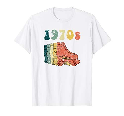 70s Roller Skate Disco Derby Tshirt