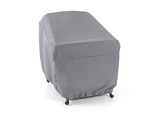 CoverMates – Outdoor Chair Cover – 35W x 40D x 37H – Elite Collection – 3 YR Warranty – Year Around Protection - Charcoal by CoverMates