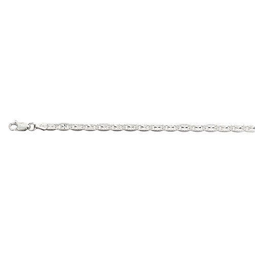 Decadence Unisex Sterling Silver 4.00mm 20