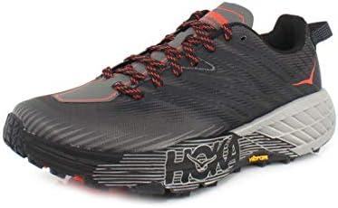 (HOKA) トレーニングシューズ スピードゴート 4 1106525-DGGA (ブラック×グレー/28.0/Men's)