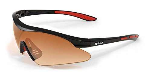 2017 Maxx Sunglasses Sniper TR90 Black Red Frame HD - Maxx Hd Sunglasses