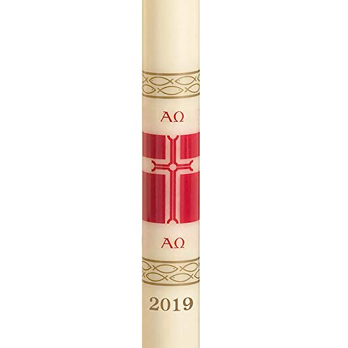 US Gifts No 3 Special Alleluia Paschal Candle