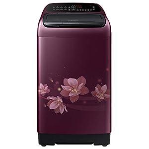 Samsung 8 Kg 5 Star Inverter Fully-Automatic Top Loading Washing Machine (WA80T4560BM/TL, Magnolia Plum, Activ Wash…