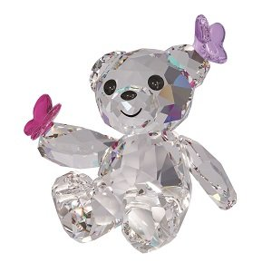 Swarovski Kris Bear Playful Butterflies