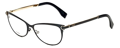 FENDI Eyeglasses 0024 07Wh Shiny Black - 2014 Glasses Fendi