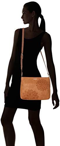 Donna Tracolla Espot camel Women A Bag Borse Atila Desigual Marrone EqY0wv