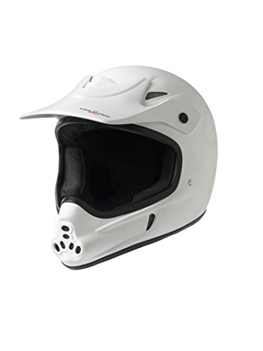 Triple Eight Invader Full Face Helmet, White Glossy, Large/X-Large Review