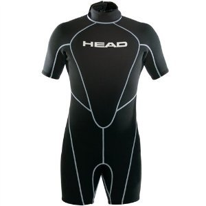 HEAD Wave Men's 2.5 mm Shorty, Black - 3X-Large ()