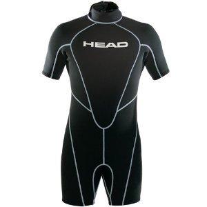 HEAD Wave Men's 2.5 mm Shorty, Black - 3X-Large ()