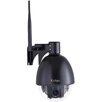 Amazon Com Kishgo Outdoor Ptz Wireless Ip Security