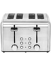 Kalorik 4-Slice Toaster, Stainless Steel