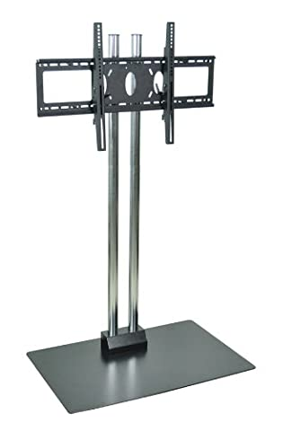 H WILSON WPSMS62CH Stationary Flat Panel Stand and Mount - Buhl Flat
