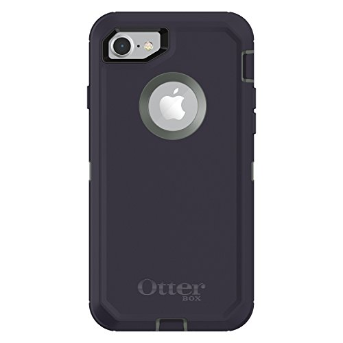 OtterBox DEFENDER SERIES Case for iPhone 8 & iPhone 7 (NOT Plus) - Retail Packaging - STORMY PEAKS (AGAVE GREEN/MARITIME BLUE) (Green Otter Box)
