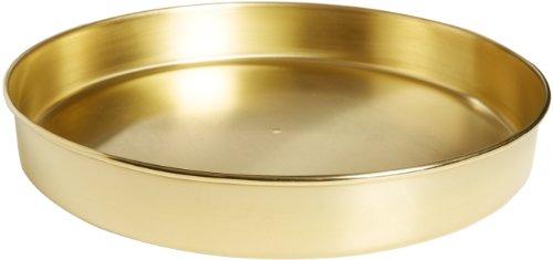 Advantech PB12H Brass Half Height Sieve Pan without Extended Rim, 12