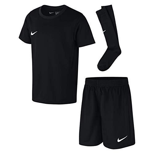 s Jersey Soccer Kit Set (Black, L) ()