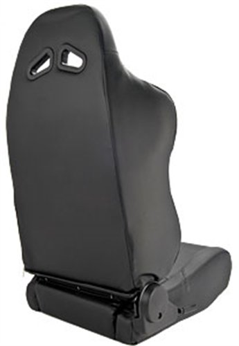 Scat 80-1610-51L Sportsman Black Synthetic Leather Left Racing Seat