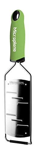Microplane Gourmet Series Shaver, Stainless Steel, Green, 31.5 x 7.5 x 3 cm ()