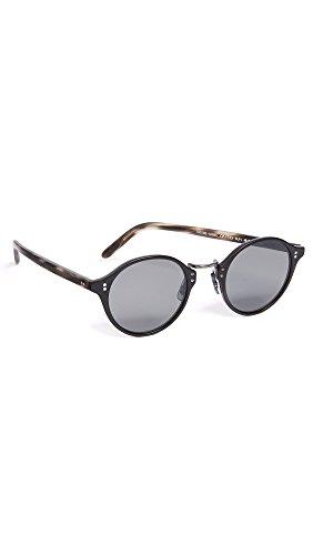 Oliver Peoples Eyewear Men's OP 1955 Sunglasses, Carbon Grey, One - Beatnik Sunglasses