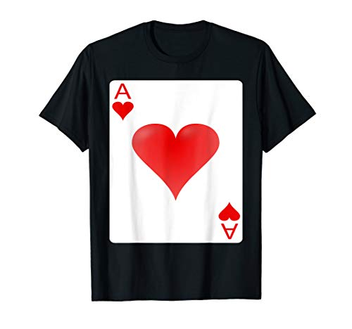Ace of hearts playing card Halloween Group Costume -