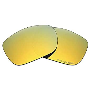 Mryok+ Polarized Replacement Lenses for Oakley TwoFace - 24K Gold