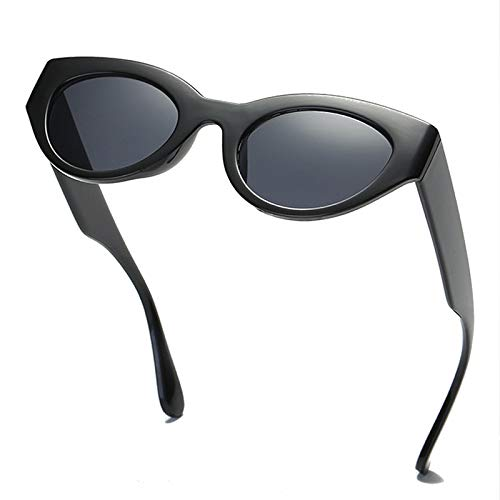 408dbc37ebf SIKYGEUM Sexy Small Cat Eye Sunglasses Women Fashion Design Droplet Temple  Mod Style