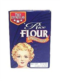Tres Estrellas Rice Flour,17.6 oz.
