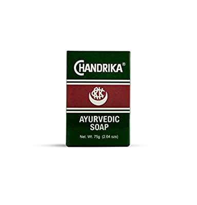 Chandrika Bath and Body Ayurvedic Bar Soap (Pack of 10) (75gm / 2.64 oz)