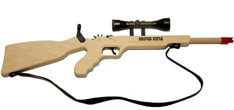 Sniper Rubberband Rifle w/ Scope