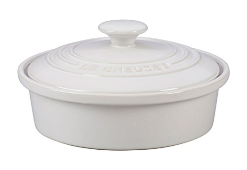 Savory Brie (Le Creuset of America Stoneware Camembert Baker, 20-Ounce, White)