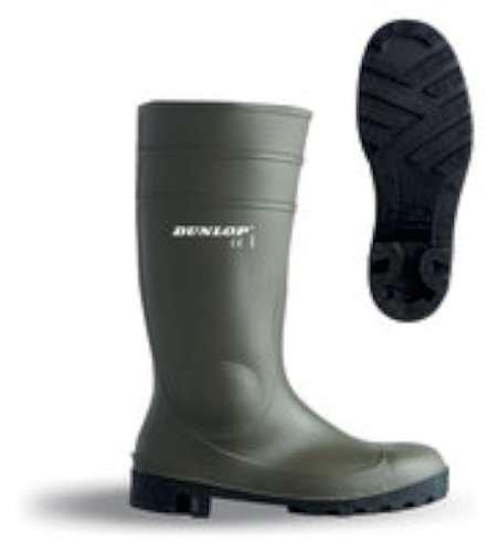 marque-1588bavs39-chaussure-Sicherheit Wasser/Nitril PVC grün 39