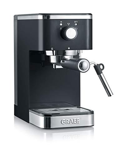 Graef ES402EU Salita 1400 – Cafetera espresso con portafiltros, Negro