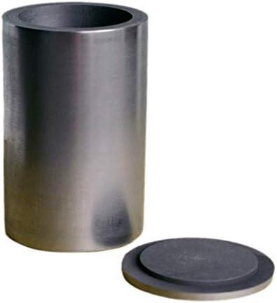 Wzqwzj Hochreine Graphittiegel 0,43 kg Schmelzen Gold Silber Kupfer Casting Tool mit Deckel